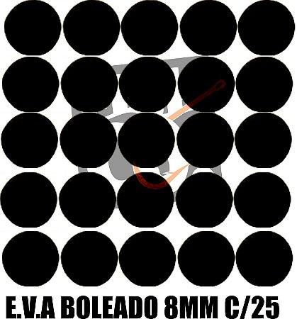 E.V.A 8MM APERTA O PLAY C/25 - MARROM