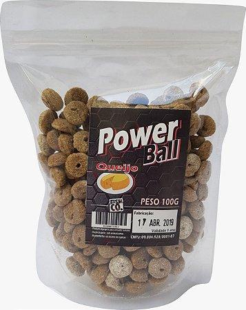 RAÇÃO POWER BALL QUEIJO - 100g