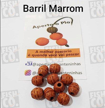 MIÇANGA APERTA O PLAY C/10 UNIDADES -  BARRIL MARROM