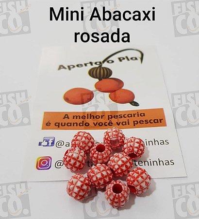 MIÇANGA APERTA O PLAY C/10 UNIDADES - MINI ABACAXI ROSADA