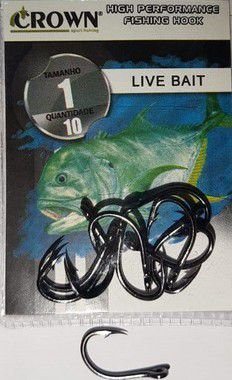 ANZOL CROWN - LIVE BAIT