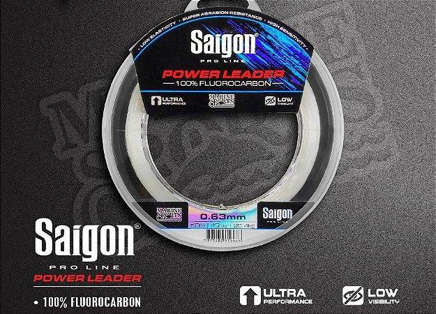 LINHA SAIGON POWER LEADER 100% FLUOROCARBON 50m
