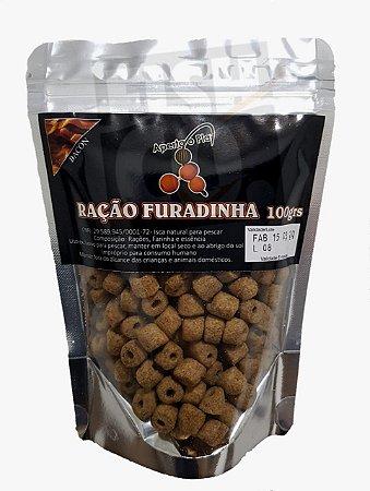 RAÇÃO FURADINHA APERTA O PLAY 100G - BACON
