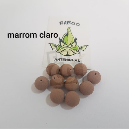 E.V.A BABOO 12MM MARROM CLARO C/10