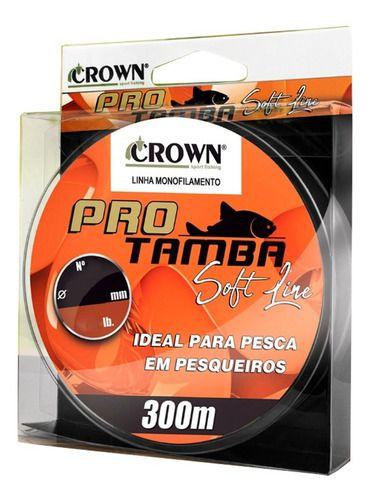 LINHA CROWN PRO TAMBA SOFT ORANGE 300m