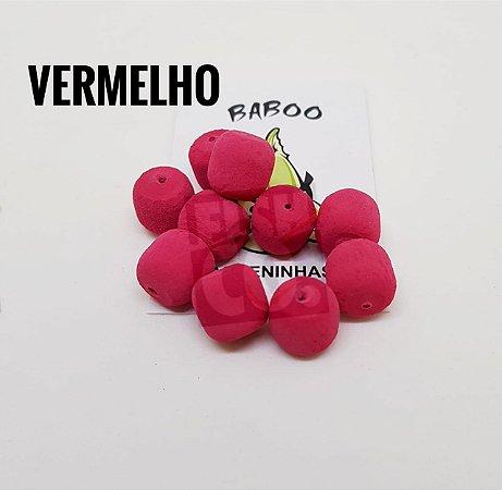 E.V.A 12MM FORMATO RAÇÃO BABOO C/10 VERMELHO