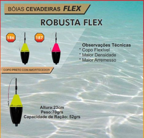 BOIA JR PESCA CEVADEIRA - ROBUSTA FLEX