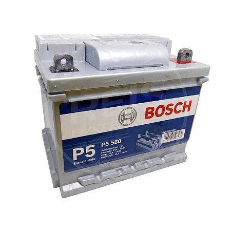 Bateria Estacionária Bosch P5 580 - 40Ah ( Antiga P5 050 ) - 30 Meses de Garantia