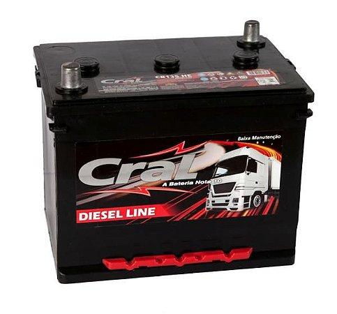 Bateria Cral Prata 135Ah - 6V - CP135HE - Baixa Manutenção ( Requer Água )