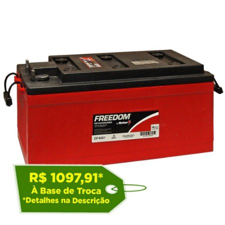 Bateria Estacionária Freedom DF4100 - 220Ah / 240Ah ( Antiga DF4001 )