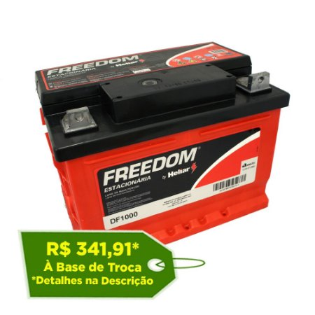 Bateria Estacionária Freedom DF1000 - 60Ah / 70Ah
