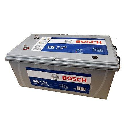 Bateria Estacionária Bosch P5 4081 - 230Ah ( Antiga P5 401 ) - 30 Meses de Garantia