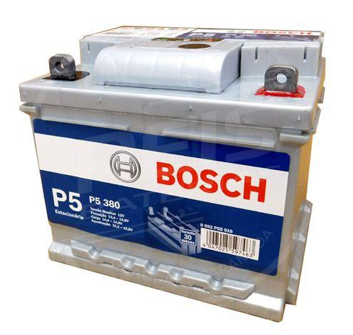 Bateria Estacionária Bosch P5 380 - 28Ah ( Antiga P5 030 ) - 30 Meses de Garantia