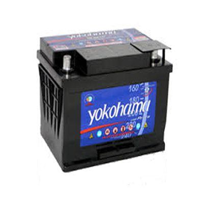 Bateria Yokohama Prata 40Ah – Y40VKSD – Baixa Manutenção