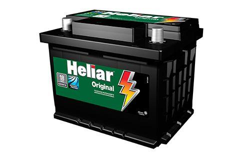 Bateria Heliar 50Ah – HG50GD ( Cx. Alta ) – Original de Montadora
