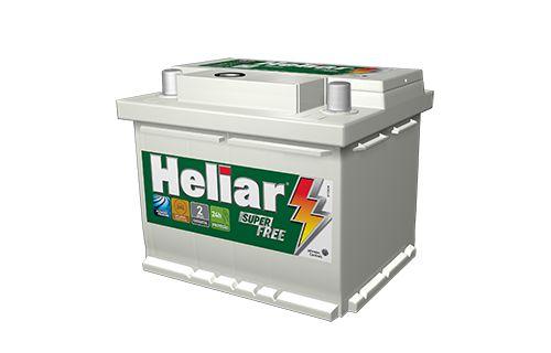 Bateria Heliar 48Ah Super Free – HF48BD – 24 Meses de Garantia