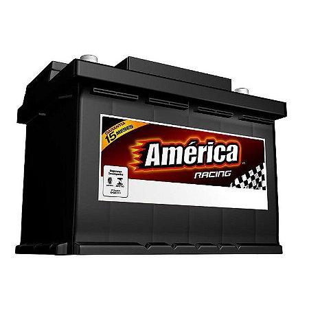 Bateria América 60Ah - AM60DD / AM60DE - Fabricação Heliar - 15 Meses Garantia