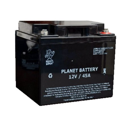 Bateria Estacionária VRLA ( AGM ) Planet Battery 12V – 45Ah