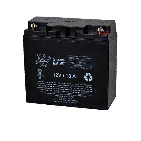 Bateria Estacionária VRLA ( AGM ) Planet Battery 12V – 18Ah