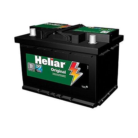 Bateria Heliar 70Ah – HG70ND / HG70NE – Original de Montadora