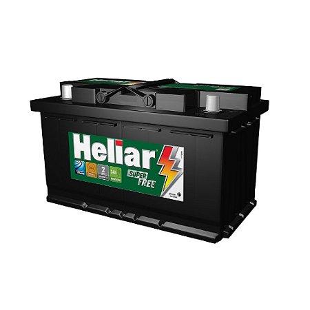 Bateria Heliar Super Free 75Ah – HF75PD ( Cx. Alta ) – 24 Meses de Garantia
