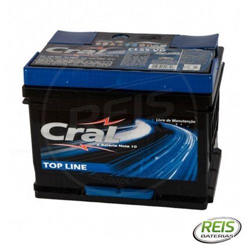 Bateria Cral Selada 55Ah – CL55VD / CL55VE – Livre de Manutenção