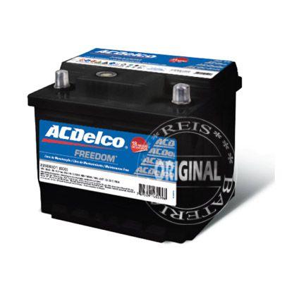 Bateria ACDelco 52Ah – 22S52FD1 – Original de Montadora