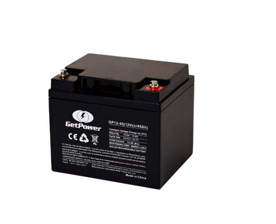 Bateria Estacionária VRLA ( AGM ) GetPower 12V – 45Ah – GP12-45
