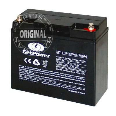 Bateria Estacionária VRLA ( AGM ) GetPower 12V – 18Ah – GP12-18
