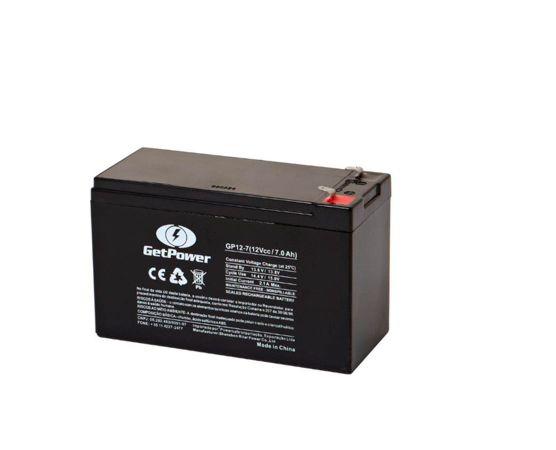 Bateria Estacionária VRLA ( AGM ) GetPower 12V – 7Ah – GP12-7