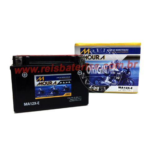 Bateria Moura Moto 9Ah - MA9-E ( Antiga MA12X-E ) - Selada AGM ( Ref. Yuasa: YT12A-BS )