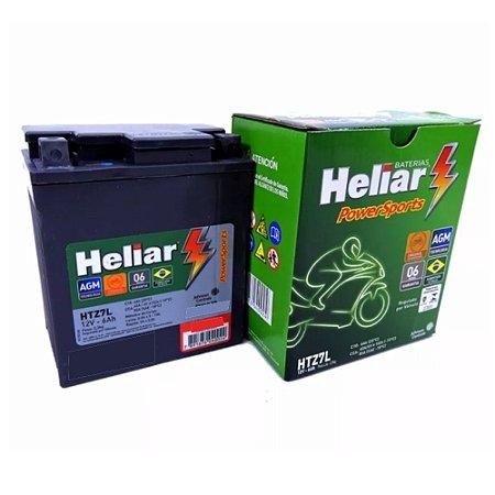 Bateria Heliar Moto 6Ah – HTZ7L ( Ref. Yuasa: YTX7L-BS )