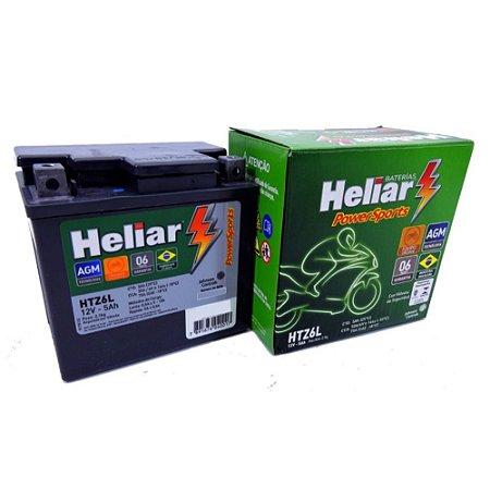 14aacd0e2ad Bateria Heliar Moto 5Ah - Reis Baterias - Bateria de Moto - Yamaha ...