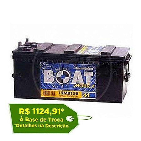Bateria Moura Boat 150Ah – 12MB150 – Para Barcos ( Náutica )