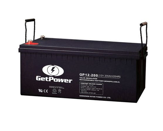 Bateria Estacionária VRLA ( AGM ) GetPower 12V – 200Ah – GP12-200