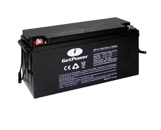 Bateria Estacionária VRLA ( AGM ) GetPower 12V – 150Ah – GP12-150