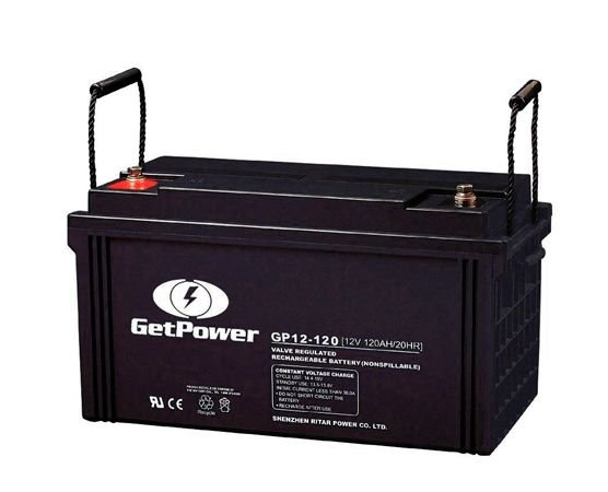 Bateria Estacionária VRLA ( AGM ) GetPower 12V – 120Ah – GP12-120