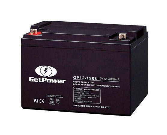 Bateria Estacionária VRLA ( AGM ) GetPower 12V – 120Ah – GP12-120S