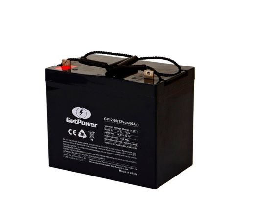 Bateria Estacionária VRLA ( AGM ) GetPower 12V – 60Ah – GP12-60