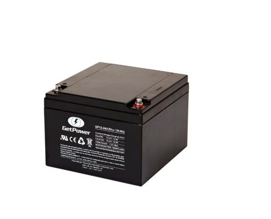 Bateria Estacionária VRLA ( AGM ) GetPower 12V – 24Ah – GP12-24