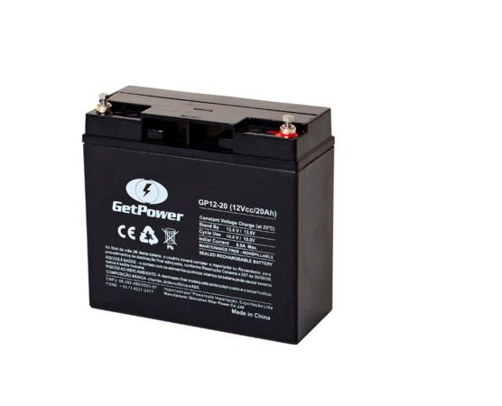 Bateria Estacionária VRLA ( AGM ) GetPower 12V – 20Ah – GP12-20