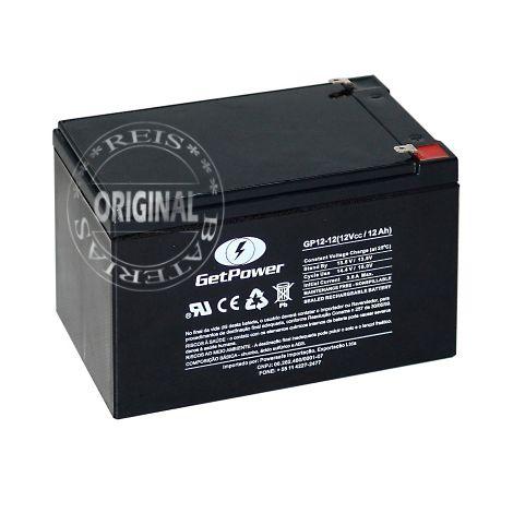 Bateria Estacionária VRLA ( AGM ) GetPower 12V – 12Ah – GP12-12