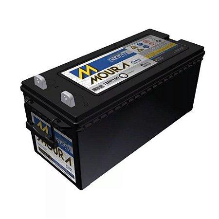 Bateria Estacionária Moura Clean 12MF150 - 150Ah