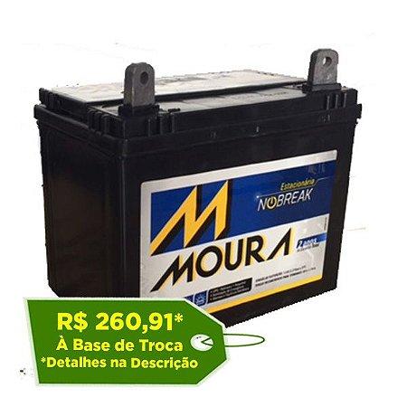 Bateria Estacionária Moura NoBreak 12MN30 - 30Ah