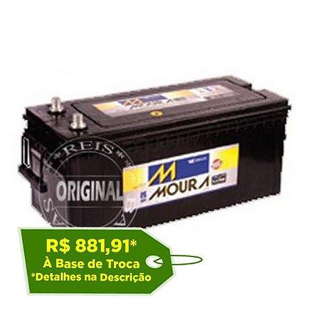 Bateria Moura 180Ah LOG Diesel – M180BD – Original de Montadora