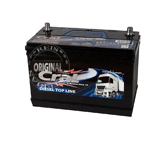 Bateria Cral Selada 100Ah – CL100HEF – Livre de Manutenção