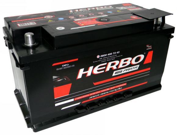 Bateria Herbo Prata 95Ah – HP95SPRD – Baixa Manutenção ( Requer Água )