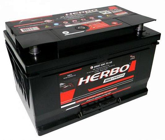 Bateria Herbo Prata 80Ah – HP80PTOD – Baixa Manutenção ( Requer Água )