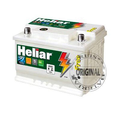 Bateria Heliar 60Ah – SL60DD / SL60DE – Assistência 24hs do Fabricante ( Pane Elétrica )