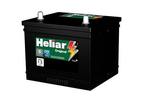 Bateria Heliar 50Ah ou 45Ah – HG50JD / HG45LE – Original de Montadora